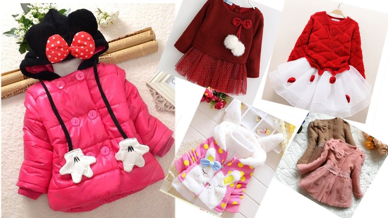 Baby girl dresses for winter/ kids girls clothes /baby dress winter  collection