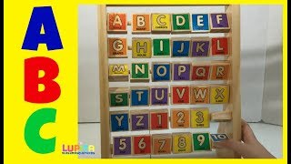 ABC-123 Abacus Classic toy Learning my Letters A to Z and Numbers 1 to 10