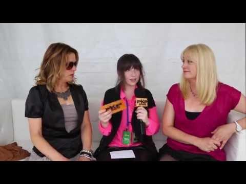 THE BANGLES SUNFEST 2014 interview w/ Pavlina
