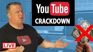 🔴 YouTube Creator AD Crackdown: YouTube Big Changes To Partner Program