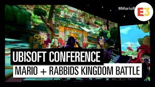 #6 Mario + Rabbids Kingdom Battle - Ubisoft E3 2018 Conference