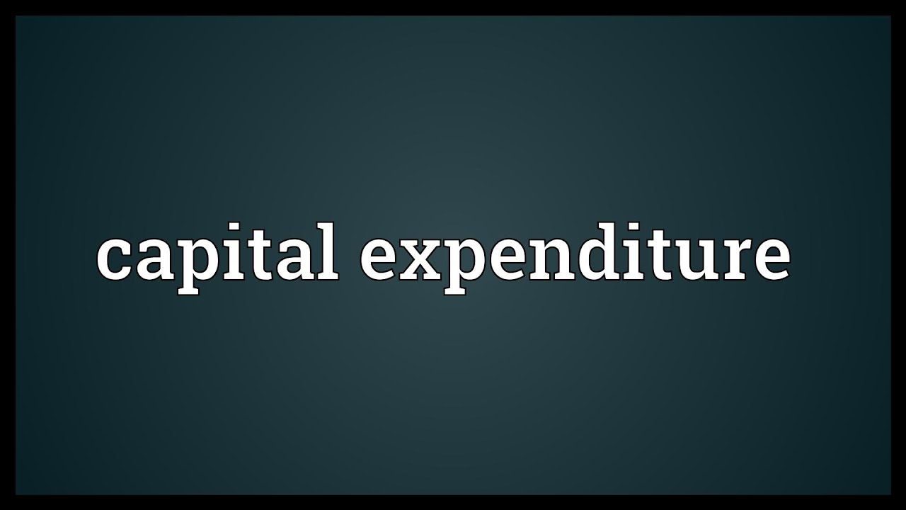 """the meaning and importance of capital expenditure Thoughtful, wise and correct capital expenditure decisions what have  capital  budgeting involves """"long-term planning for proposed capital outlay and their."""