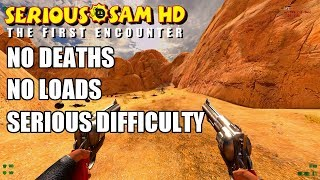 Serious Sam Fusion: TFE, No Deaths/No Loads, Serious Difficulty