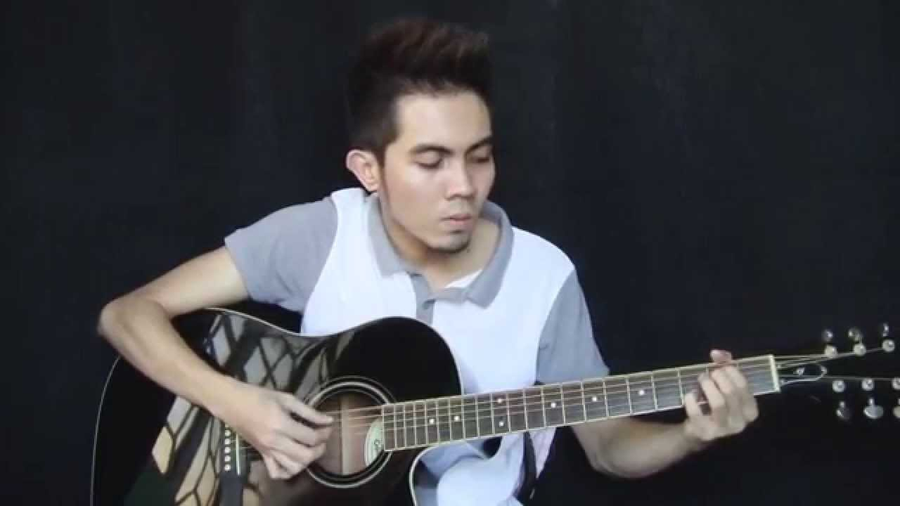 Ikaw at Ako - TJ Monterde cover (fingerstyle guitar + Free Tabs) - YouTube