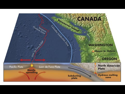 Cascadia Earthquake Animation 9.0