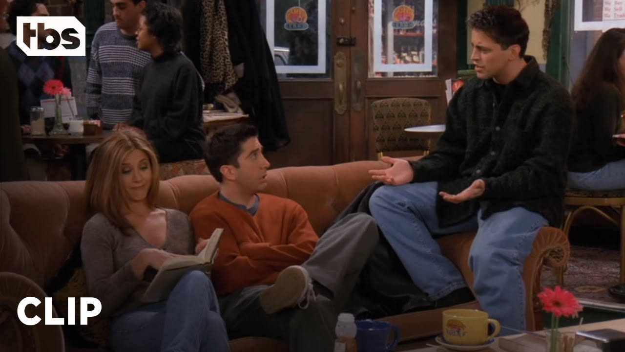 Download Friends: Joey and Rachel Spoil Their Books (Season 3 Clip) | TBS