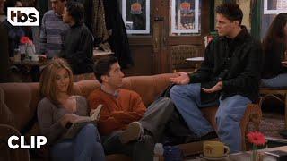 Friends: Joey and Rachel Spoil Their Books (Season 3 Clip)   TBS