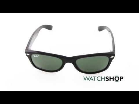 fa021ce1976 Ray-Ban Men s New Wayfarer Classic Sunglasses (RB2132-901 58-52 ...