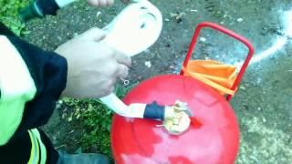 видео Порошковый огнетушитель ОП-40