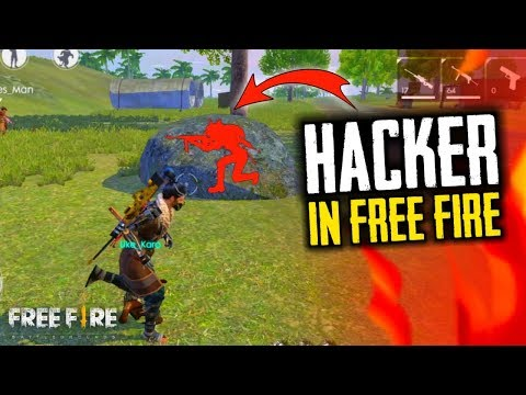 I Meet Car Hacker In Free Fire, Wall Hack - Garena Free Fire