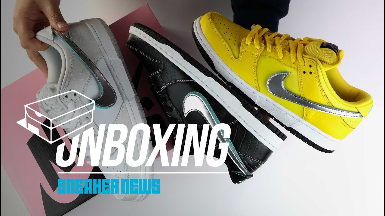 e824d3dd1dba Nike SB Diamond Dunk Unboxing + Review - YouTube