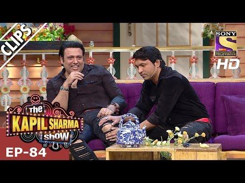 Chandu meets his idol Govinda - The Kapil Sharma Show - 25th Feb 2017