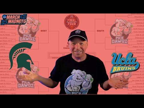 Michigan State vs UCLA 3/18/21 Free College Basketball Pick and Prediction NCAA Tournament Betting