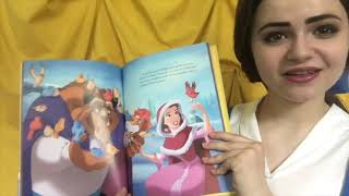Belle reads a bedtime story || Beauty and the Beast storytelling