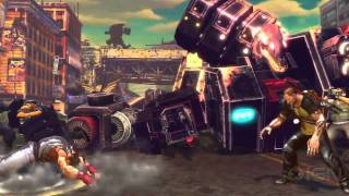Street Fighter X Tekken - Pacman vs Mega Man Trailer
