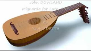 John DOWLAND - Galliards - Paul O