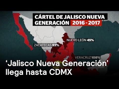 Cártel Jalisco Nueva Generación llega a CDMX - Narco - En Punto con Denise Maerker