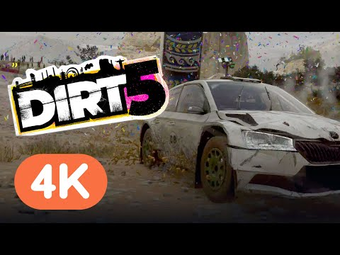 Dirt 5 on Xbox Series X: 4 Minutes of Gameplay in 4K