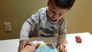 Littlehoangs Toddlerand39s First Unboxing Pinkfong Babyshark Toyunboxing