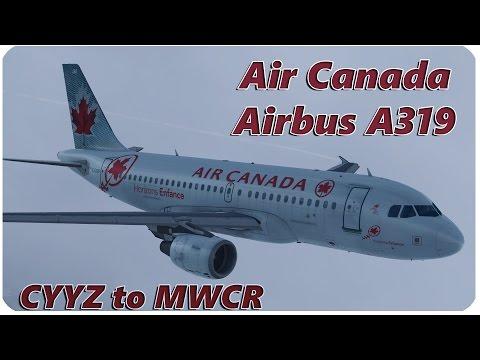 Prepar3D v3 | Aerosoft A319 | Air Canada | CYYZ to MWCR