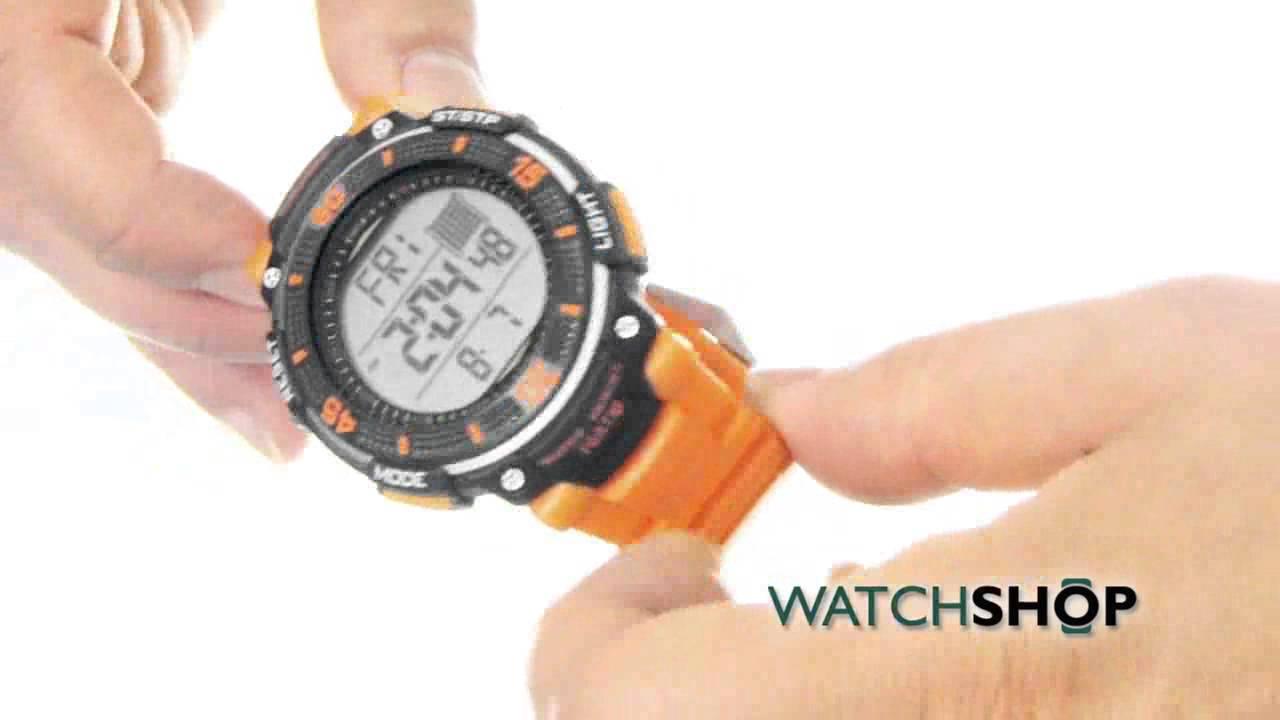 5da61ce55851 Timberland Men s Cadion Alarm Chronograph Watch (13554JPB 04A) - YouTube
