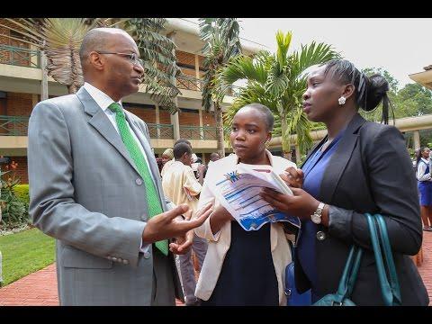 CBK Governor's speech at KSMS to Mathare Youth Empowerment Program members.