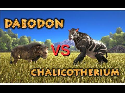 Daeodon Vs Chalicotherium Ark Survival Evolved Cantex Youtube Shop rewards & stats 1.3. daeodon vs chalicotherium ark survival evolved cantex