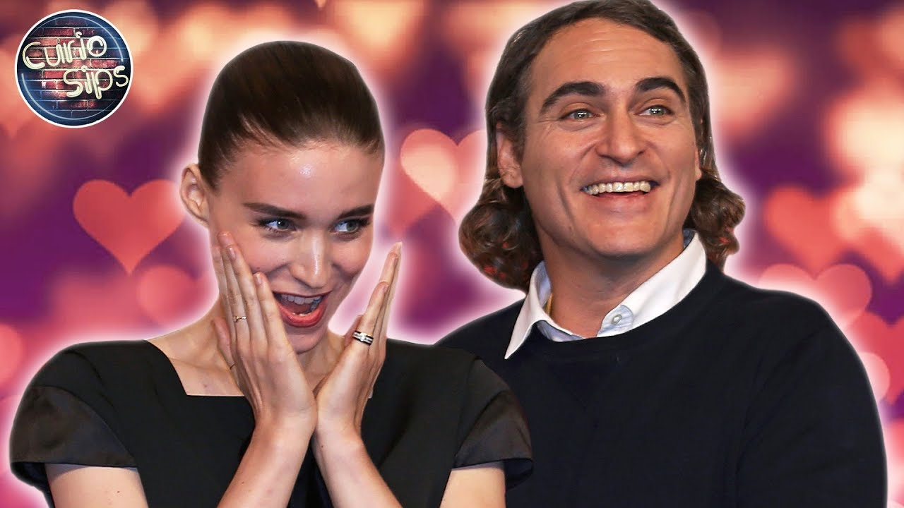 Joaquin Phoenix Can't Help But Smile at Fiance Rooney Mara on ...
