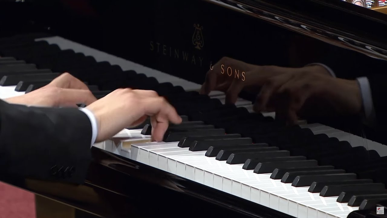 video: Seong-Jin Cho :   Compétition Piano Chopin-Nov 2017