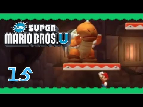 New Super Mario Bros U Rock Candy Mines New Super Mario Bros U...