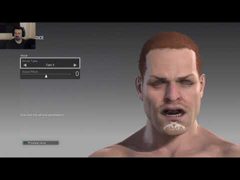 Metal Gear Survive Open Beta gameplay pt1 - Character Creation & Loadout Exploration