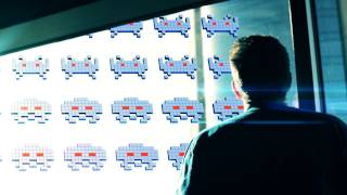 Space Invaders in Real Life