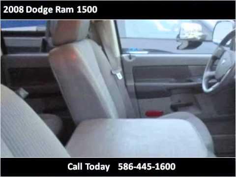 2008 Dodge Ram 1500 Used Cars Roseville Mi Youtube