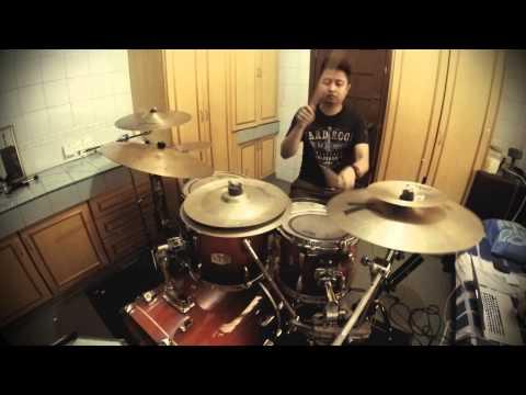 Dony Odyn - Sammy Simorangkir - Takkan Berhenti (Drum Cover) - GoPro