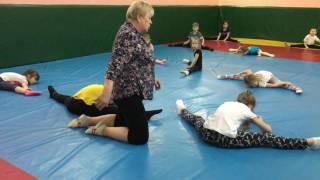 открытый урок по гимнастике 15 марта 2017