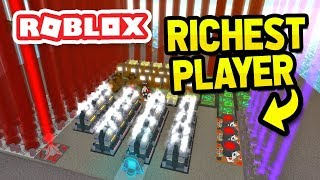 I'M THE RICHEST PLAYER in ROBLOX OIL SIMULATOR