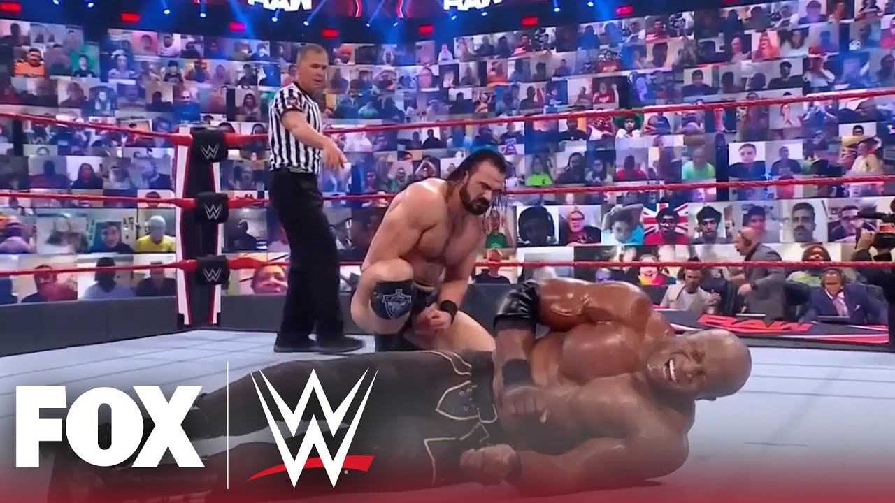 McIntyre ends Lashley with a Claymore in impromptu six-man tag match | MONDAY NIGHT RAW