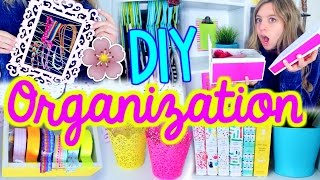 DIY Room Organization for Spring!! | Spring Cleaning + Room Decor!!
