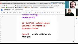 geraldo aula 2 - esperanto e frances