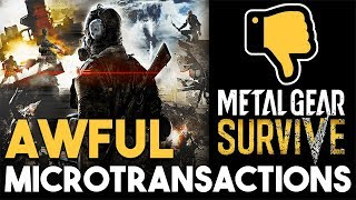 Metal Gear Survive AWFUL Microtransactions and HUGE FFXV DLC UPDATE