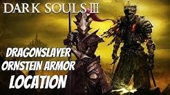 Dark Souls 3 - Dragonslayer Ornstein Armor (How To Get Ornstein Armor Location Guide)