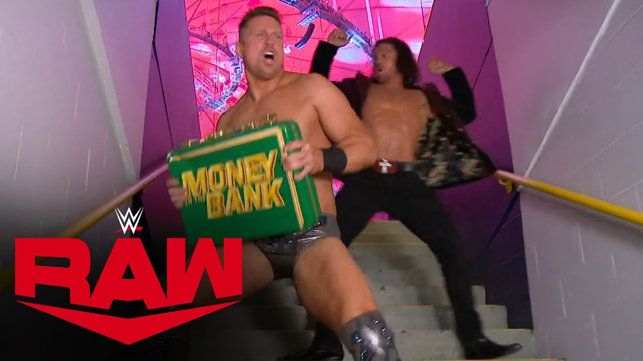 The Miz regains his Money in the Bank contract: Raw, Dec. 28, 2020