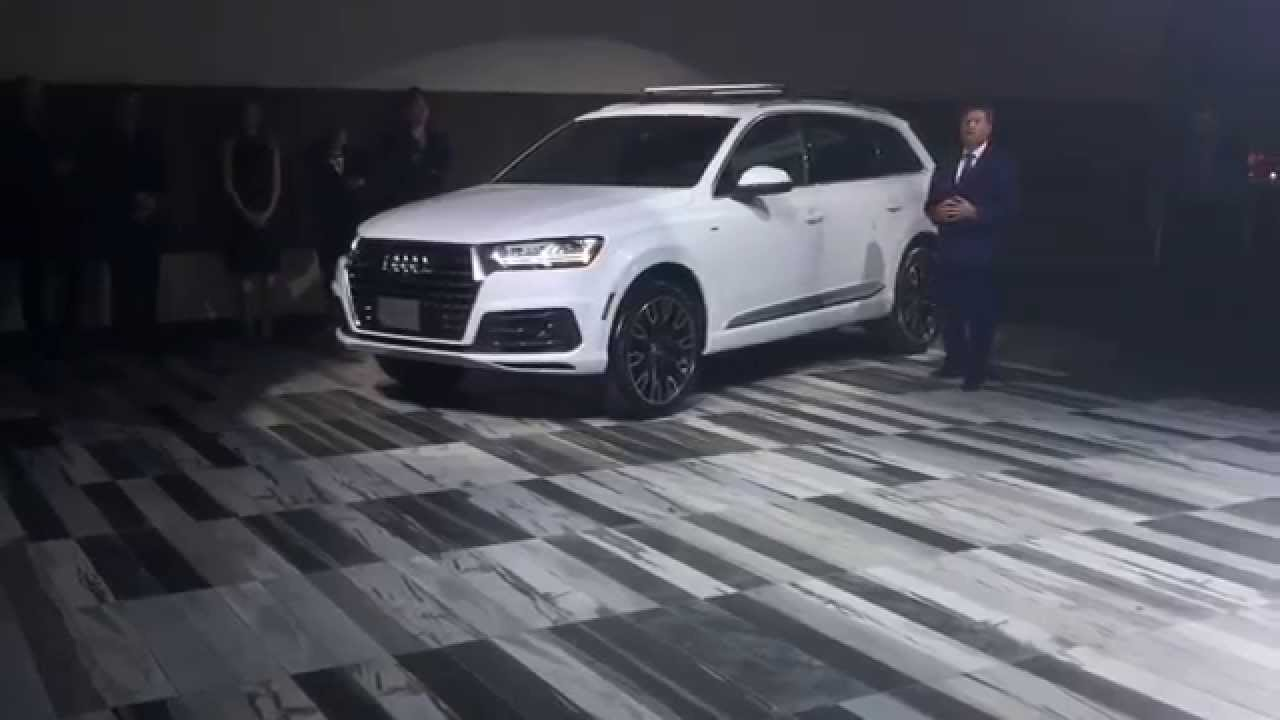 Audi Q7 Custom >> 2017 Audi Q7 Pfaff launch reveal - YouTube