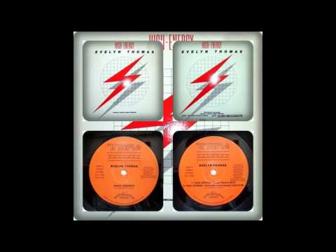 EVELYN THOMAS - HIGH ENERGY (ORIGINAL, REMIX, REMIX INSTRUMENTAL DUB 1984)