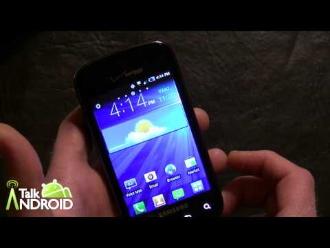 Verizon Wireless Samsung Illusion Unboxing and Initial Hands On Review