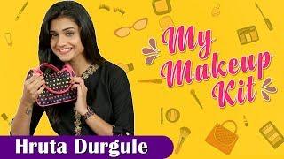 My Makeup Kit With Hruta Durgule | Marathi Actress | Phulpakhru Marathi Tv Serial | Zee Yuva