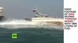 Iran state TV shows seized tanker days after UAE-based vessel vanishes