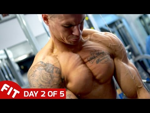 CHEST & TRICEPS - ROSS DICKERSON DAY 2 OF 5 DAY SPLIT