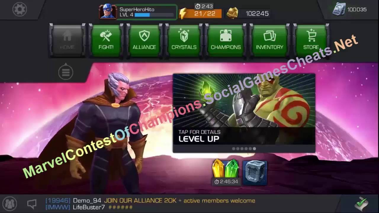 marvel contest of champions читы