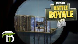 FORTNITE BATTLE ROYALE | BRICK HOUSE AND A DREAM